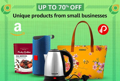 Unique Products from Small Businesses - UP TO 70% OFF - Republic Day Sale – Amazon India