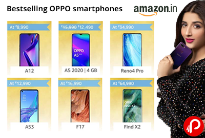 Bestselling OPPO Smartphones - A12 - A5 - Reno4 Pro - A53 - F17 - Find X2 - Amazon India
