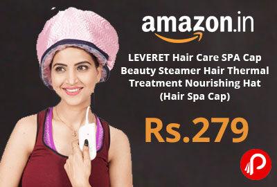 LEVERET Hair Care Treatment Nourishing Hat @ 279 - Amazon India