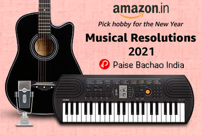 Musical Resolutions 2021 | Pick hobby for the New Year - Amazon India