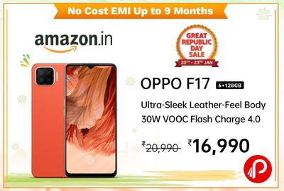 Oppo F17 (6GB RAM, 128GB Storage)