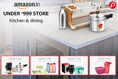 UNDER 999 STORE | Kitchen & Dining - Amazon India