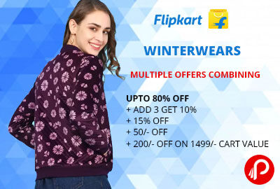 WINTERWEARS @ LOOT PRICE (MULTIPLE OFFERS COMBINING) - FLIPKART