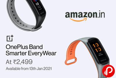 OnePlus Band Smarter EveryWear At 2,499 - Amazon India