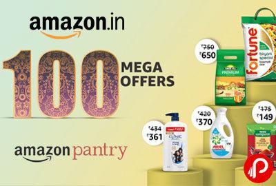 Amazon Pantry Upto 250 Cashback On Min Order Of Rs.1500
