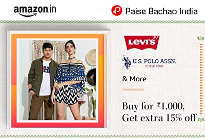 Buy for 1000, Get extra 15% off - Levi's, US Polo Association - Amazon India
