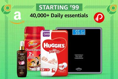 Daily Essentials - STARTING 99 - Republic Day Sale - Amazon India