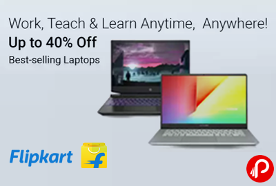 Best Selling Laptops - Up to 40% Off - Flipkart