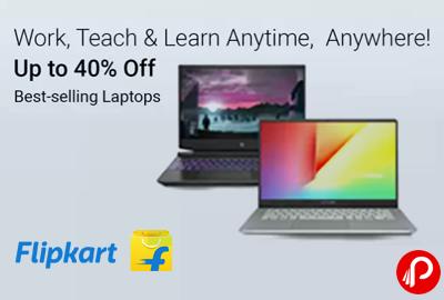 Best Selling Laptops - Up to 40% Off - Flipkart