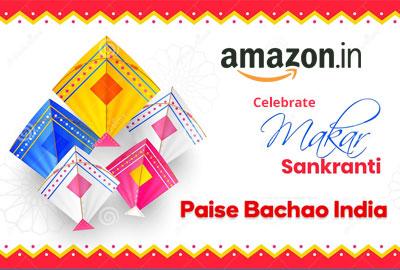 Makar Sankranti   14th January - Amazon India