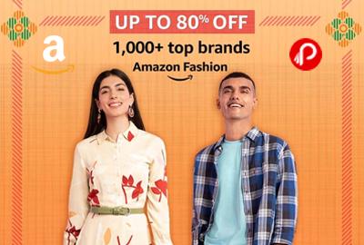 Amazon Fashion - UP TO 80% OFF - Republic Day Sale – Amazon India