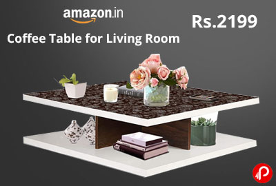 Coffee Table for Living Room @ 2199 - Amazon India