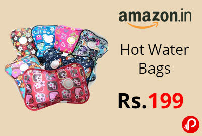 Hot Water Bags @ 199 - Amazon India