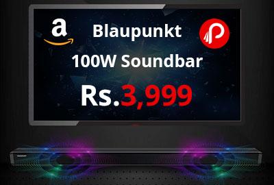 Blaupunkt SBA01 100W Soundbar with Built in Subwoofer