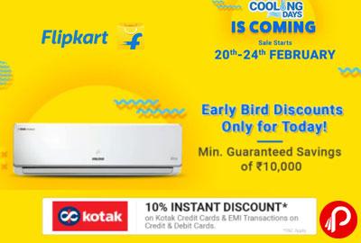 [Upcoming] Flipkart Cooling Days | 20th - 24th Feb