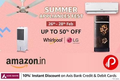 Summer Appliances Fest 2021 | 26 - 28 FEB - Amazon India