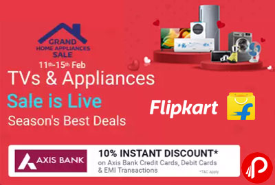 TVs & Appliances | UPTO 75% OFF - Grand Home Appliances Sale is Live!