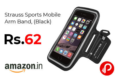 Strauss Sports Mobile Arm Band @ 62 - Amazon India