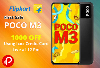 POCO M3 From Rs. 10999 | First Sale - Flipkart