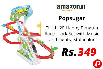 Popsugar - TH1112E Happy Penguin Race Track Set @ 349 - Amazon India