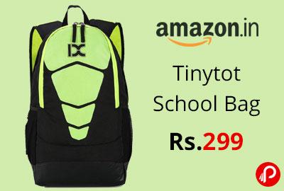 Tinytot School Bag or College Backpack @ 299 - Amazon India
