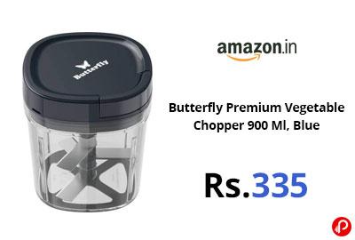 Butterfly Premium Vegetable Chopper 900 Ml @ 335 - Amazon India