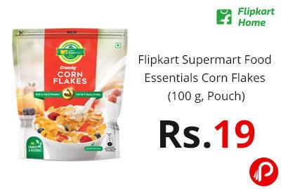Flipkart Supermart Food Essentials Corn Flakes (100 g, Pouch) @ 19 - Flipkart Home