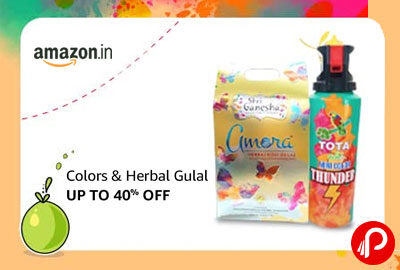 Holi Gulal & colors | UPTO 40% OFF - Amazon India