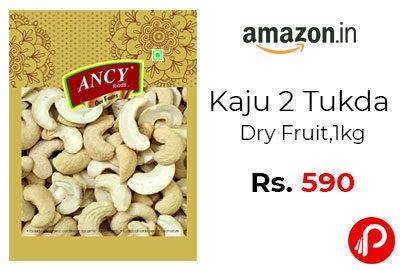 Kaju 2 Tukda Dry Fruit 1kg @ 590 - Amazon India