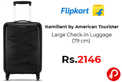 Large Check-in Luggage (79 cm) @ 2146 - Flipkart