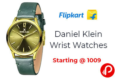 Daniel Klein Wrist Watches Starting @ 1009 - Flipkart