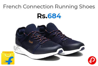 French Connection Running Shoes For Men (Navy) @ 684 - Flipkart