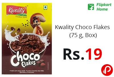 Kwality Choco Flakes (75 g, Box) @ 19 - Flipkart Home