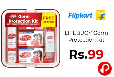 LIFEBUOY Germ Protection Kit @ 99 - Flipkart