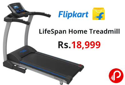 LifeSpan Home Treadmill @ 18,999 - Flipkart