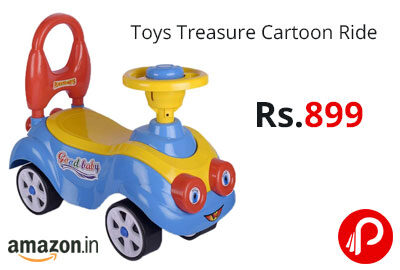 Toys Treasure Cartoon Ride @ 899 - Amazon India