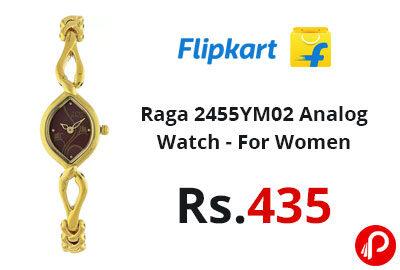 Raga 2455YM02 Analog Watch - For Women - Flipkart
