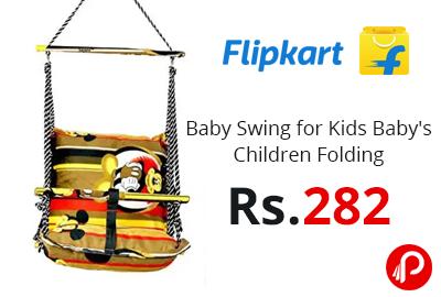 Baby Swing for Kids Baby's Children Folding @ 282 - Flipkart