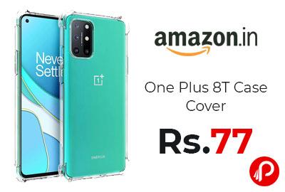 One Plus 8T Case Cover @ 77 - Amazon India