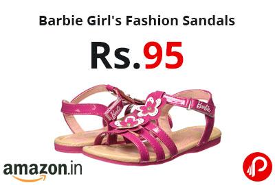 Barbie Girl's Fashion Sandals @ 95 - Amazon India