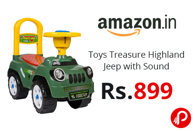 Toys Treasure Highland Jeep @ 899 - Amazon India