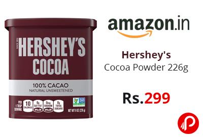 Hershey's Cocoa Powder 226g @ 299 - Amazon India