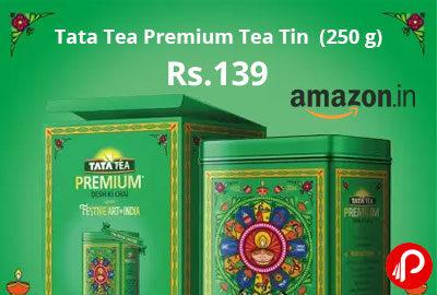 Tata Tea Premium Pattachitra Festive Pack Tea Tin (250 g) @ 139 - Flipkart