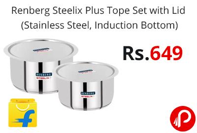 Renberg Steelix Plus Tope Set with Lid