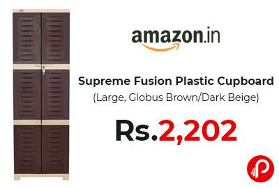 Supreme Fusion Plastic Cupboard @ 2202 - Amazon India