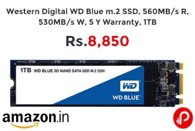 Western Digital WD Blue 1TB @ 8,850 - Amazon India