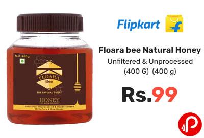 Floara bee Natural Honey (400 G) @ 99 - Flipkart