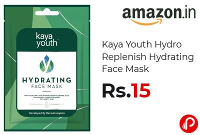 Kaya Youth Hydro Replenish Hydrating Face Mask @ 15 - Amazon India
