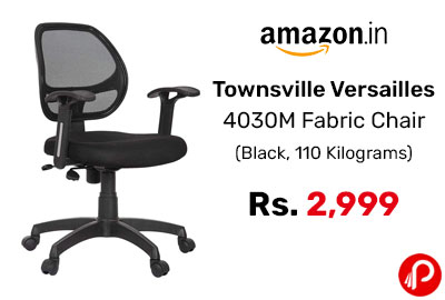 Townsville Versailles 4030M Fabric Chair @ 2999 - Amazon India