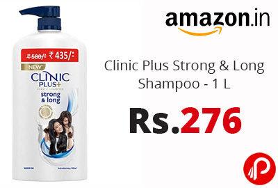 Clinic Plus Strong & Long Shampoo - 1 L @ 276 - Amazon India